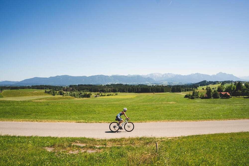 Rennrad Tour Auerberg Allgäu 40