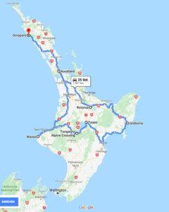 neuseeland urlaub route nordinsel