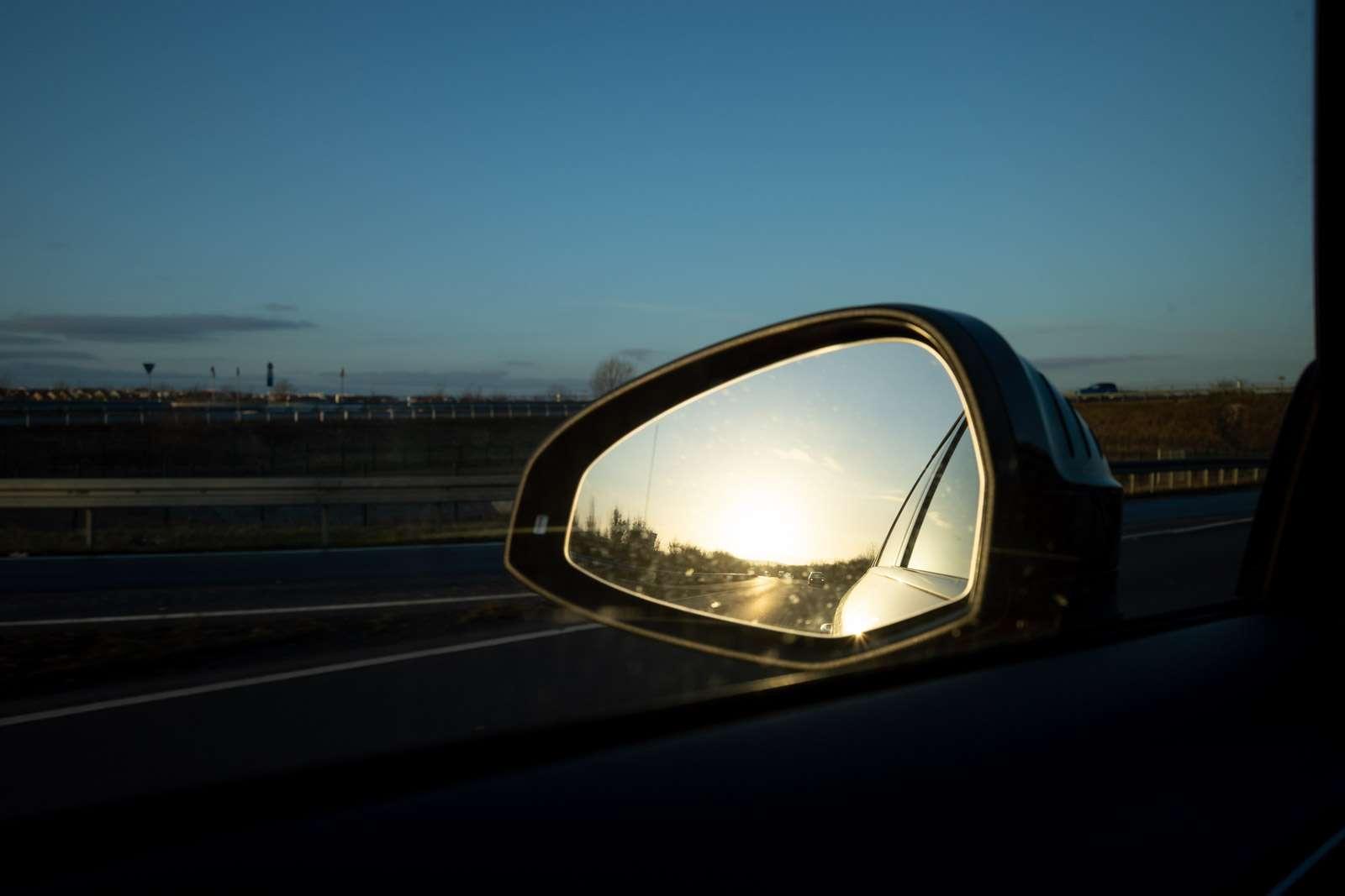 Seitenspiegel vom Auto
