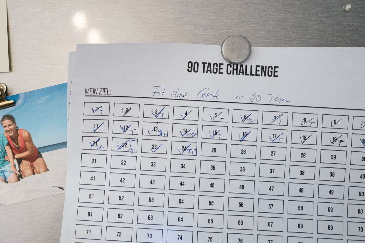 90 tage challenge 01