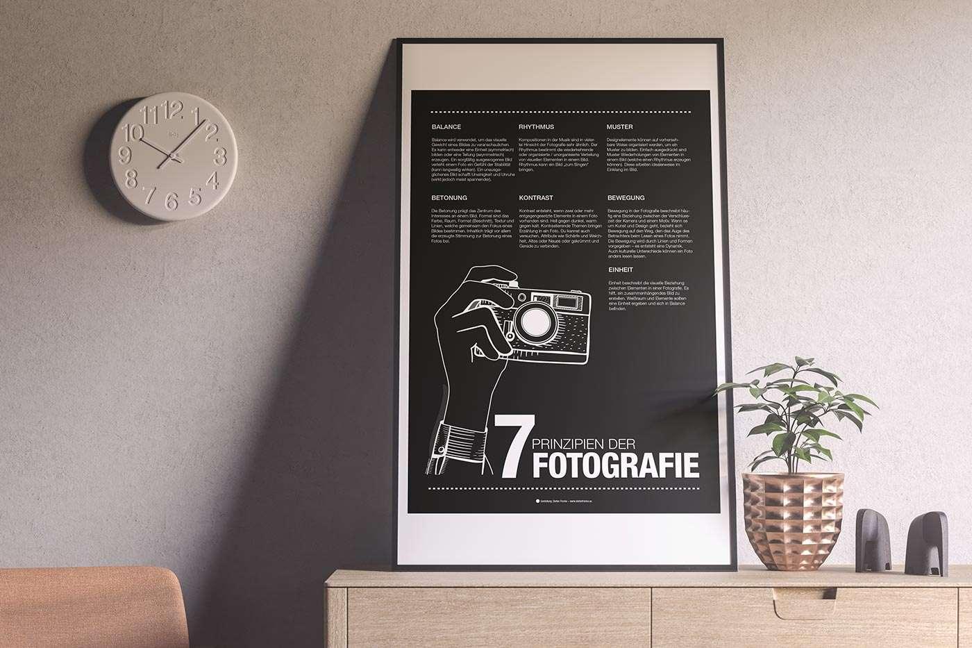 Plakat Fotografie Prinzipien der Fotografie Stefan Franke