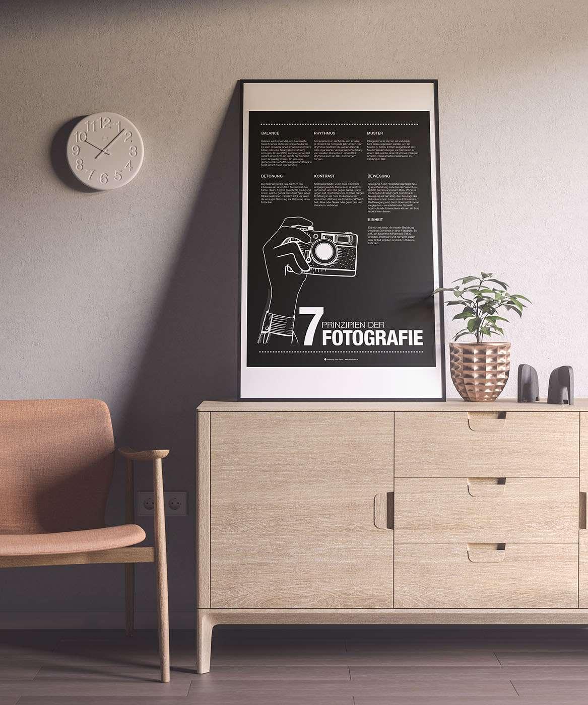 Plakat Fotografie Wandgestaltung 4