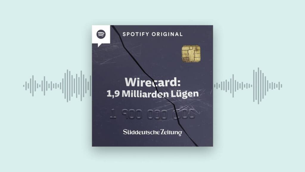 wirecard spotify original podcasat
